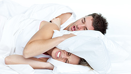 SNORING COULD WORSEN BED-PARTNERS SLEEP