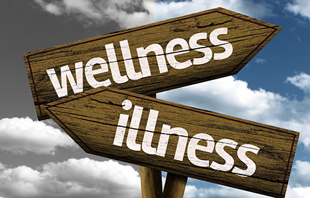 wellness - illness sign