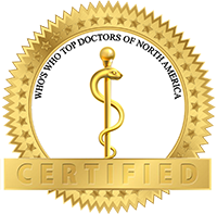 Certified - Who's Who Top Doctors of North America